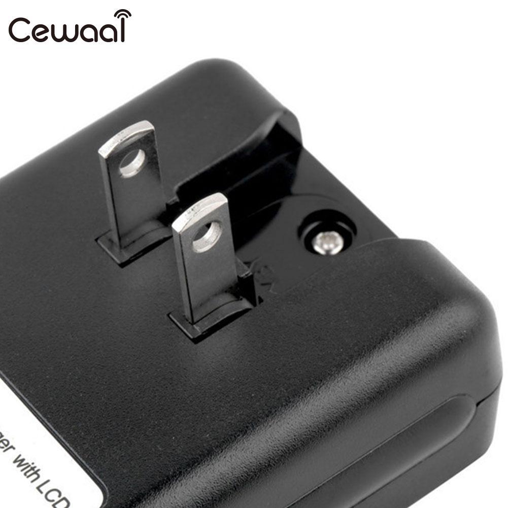 ABS SS-5 lcd универсальное зарядное устройство с функцией индикации сигнала, регулируемое интеллектуальное зарядное устройство для мобильного телефона