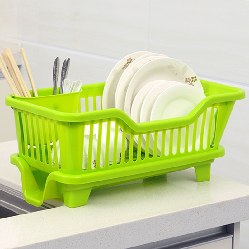 Kitchen Sink Dish Drying Racks Big size kitchen plastic draining tray dish drainer drying rack tray big size kitchen plastic draining tray dish drainer drying rack tray sink holder basket sponge fork holder dish rack for kitchen in racks holders from workwithnaturefo