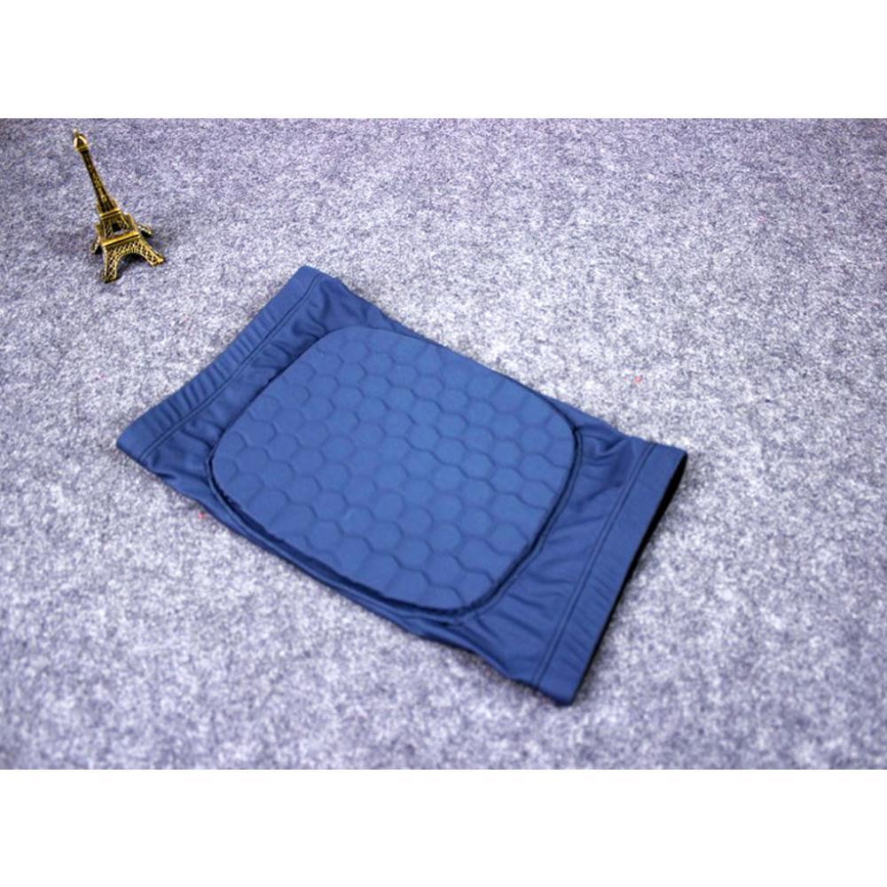 Low sale Hexagonal Honeycomb Sports Knee Pad Crashproof Extended Kneelet Guard Sleeve