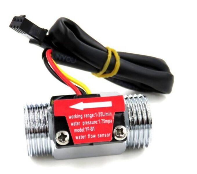 Image 2 - G1/2 Inch Water Flow Hall Sensor Switch Flow Meter For Industrial turbine flowmeter water flow sensor-in Flow Meters from Tools
