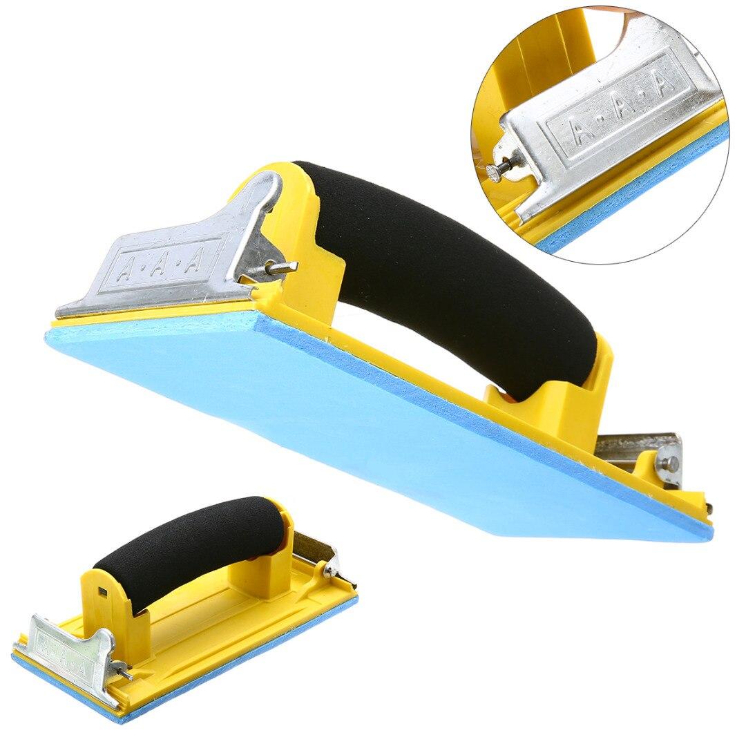Sandpaper Frame Handheld Matte Paper Frame Poloshing Sand Paper Frame Sandpaper Holder for Woodworking Polishing Abrasive Tools tissue paper