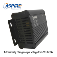 Aspire 4A Auto Change 12V to 24V Dynamo Battery Charger ZH CH2804