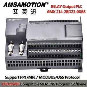 Image 2 - CPU224XP PLC לתכנות בקר להחליף סימנס 214 2BD23 0XB8 220V PLC S7 200 ממסר פלט לתכנות היגיון בקר
