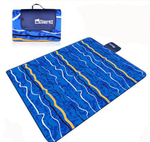 Image 5 - 200*200CM Beach Mat Blanket Outdoor Beach Cushion Camping Multiplayer Foldable Baby Climb Plaid Waterproof Picnic Sand Free Mat