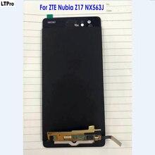 100% Testado Bom Trabalho Painel da Tela de Toque Digitador Assembléia Display LCD Para ZTE Nubia Z17 NX563J Telefone Original Sensor de Peças