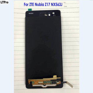 Image 1 - 100% Tested Good Working Panel Touch Screen Digitizer LCD Display Assembly For ZTE Nubia Z17 NX563J Original Phone Sensor Parts