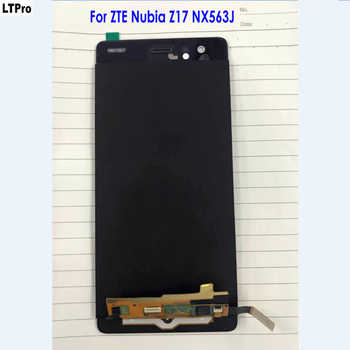 100% Tested Good Working Panel Touch Screen Digitizer LCD Display Assembly For ZTE Nubia Z17 NX563J Original Phone Sensor Parts - DISCOUNT ITEM  8% OFF All Category