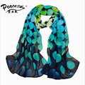 2015 Spring and autumn velvet chiffon scarf sunsreen cape beach towel polka dot silk scarf wholesale scarf Peacesky Brand