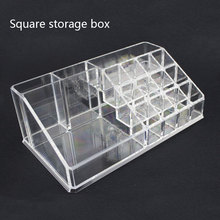 1PCS Transparent Cosmetic Storage Box Acrylic Bracelets Sundries Jewelry Organization Box