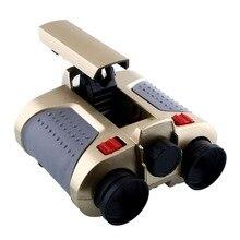 4x30 мм бинокулярный телескоп ночного видения наблюдения шпионский прицел всплывающий светильник зеленая пленка фокусировка ночного видения телескоп