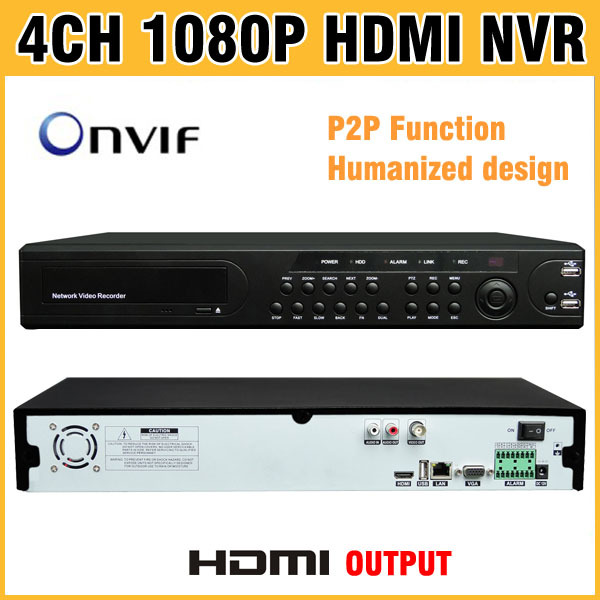 1080P HDMI Output NVR 4CH 8CH 16CH support ONVIF Network Video Recorder CCTV NVR 8 Channel