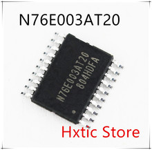 NEW 50PCS LOT 76E003 TSSOP20 N76E003AT20 IC