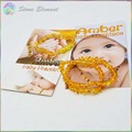 Genuine Baltic Honey Natural Amber Chips Beads Baby / Kid Teething Bracelets and Necklace