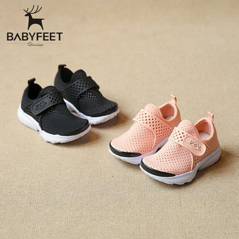 Babyfeet children shoes 2017 summer new breathable low girl boy kids net shoes Child infant flat fashion loafers Punching Holess babyfeet newborn baby boy shoes toddler sandals leather non slip kids shoes 0 1 years old boy girl children infant infantile