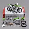 Новые ожидаемые дети DIY развивающие игрушки 1:12 новое металл KX450F сборка модель мотоцикла игрушка