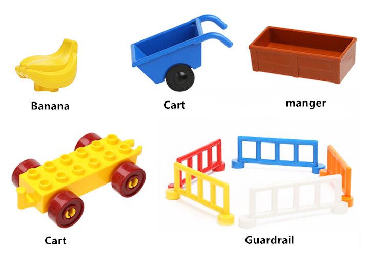 happywill большой строительный блоки аксессуар кирпичи кукла животные мост coin презентация чтобы ходом совместимость игрушки для малышей подарок