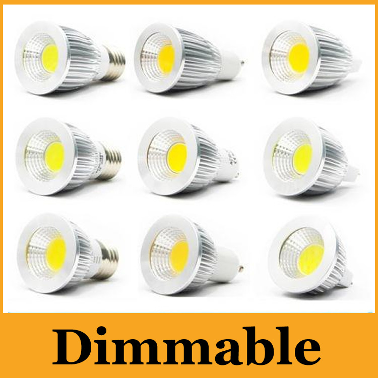 Honest Dimmable Super Bright Cob Led 5w 7w 9w Bulbs Light 60 Angle E27 Gu10 E14 Mr16 Led Spotlights Warm/pure/cool White 110-240v 12v Lights & Lighting