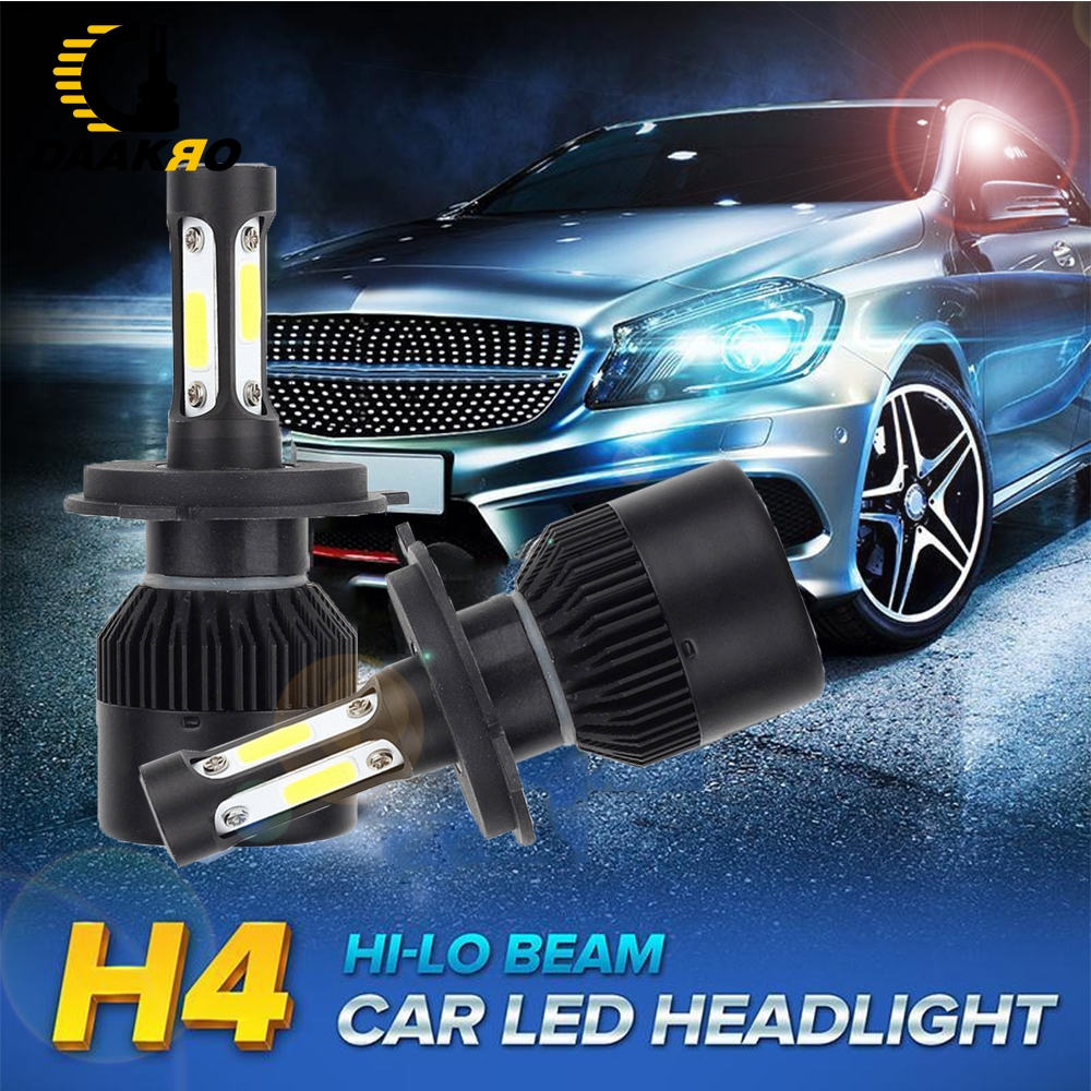 Image 3 - Car Headlight H1 H4 H8 H9 H11 H7 9005 LED 72W 4000LM 6000K LED Bulb Fog Light Auto Headlamp Lamps Pure White 3 Sides Dropshiping-in Car Headlight Bulbs(LED) from Automobiles & Motorcycles