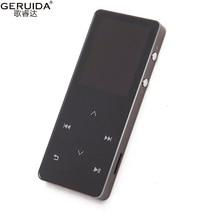 Geruida bluetooth Hi-Fi MP4 плеер 8 г Touch ключ MP3 языков небьющиеся царапинам ПЕДО метров Recorder Электронная книга повязки