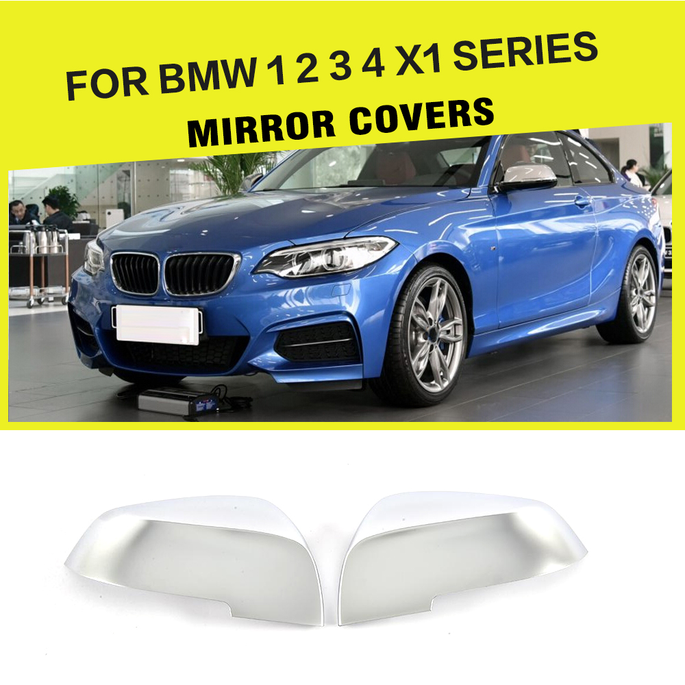 Replacement Rearview Car Mirror Covers Cap Trim for BMW 1 2 3 4 X1 Series F20 F22 F23 F30 F31 F35 F34 GT F32 F33 LHD car styling for bmw new 1 2 3 4 series gt f30 f31 f34 touring 320i 328i accelerator brake foot rest pedal pads non slip covers