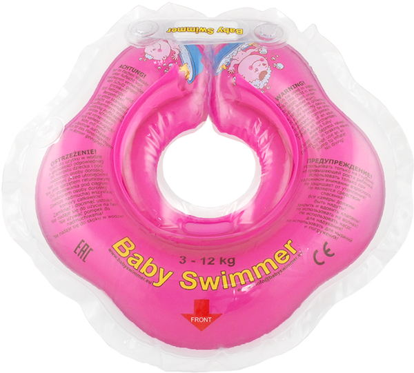 Children's neck swimming ring Baby Swimmer BS02P inflatable children swimming ring seat pool floating boat