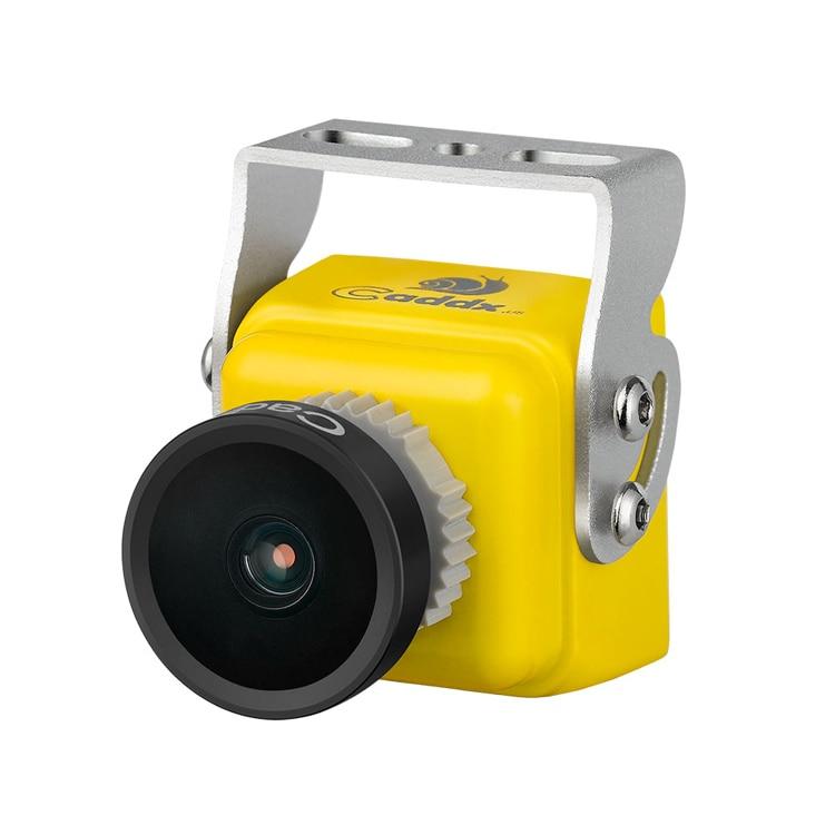 FPV Mini Camera 1/3 CCD Sensor 600TVL 2.1mm 2.3mm Lens Caddx Tubo S1 Micro Camera for FPV Racing Quadcopter PAL/NTS Optional fpv hd 700tvl 1 8mm 2 1mm 2 5mm lens camera 1 3 sony 1080h ccd cameras for qav250 fpv racing quadcopter aircraft mini camera