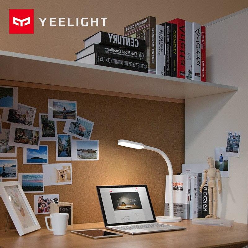 Image 5 - Оригинальный Xiaomi Yeelight светодиодный настольная лампа с регулируемой яркостью Смарт Складной USB сенсорный сенсор Настольная лампа для чтения света YLTD01YL стандарт 3 Вт-in Умный пульт управления from Бытовая электроника