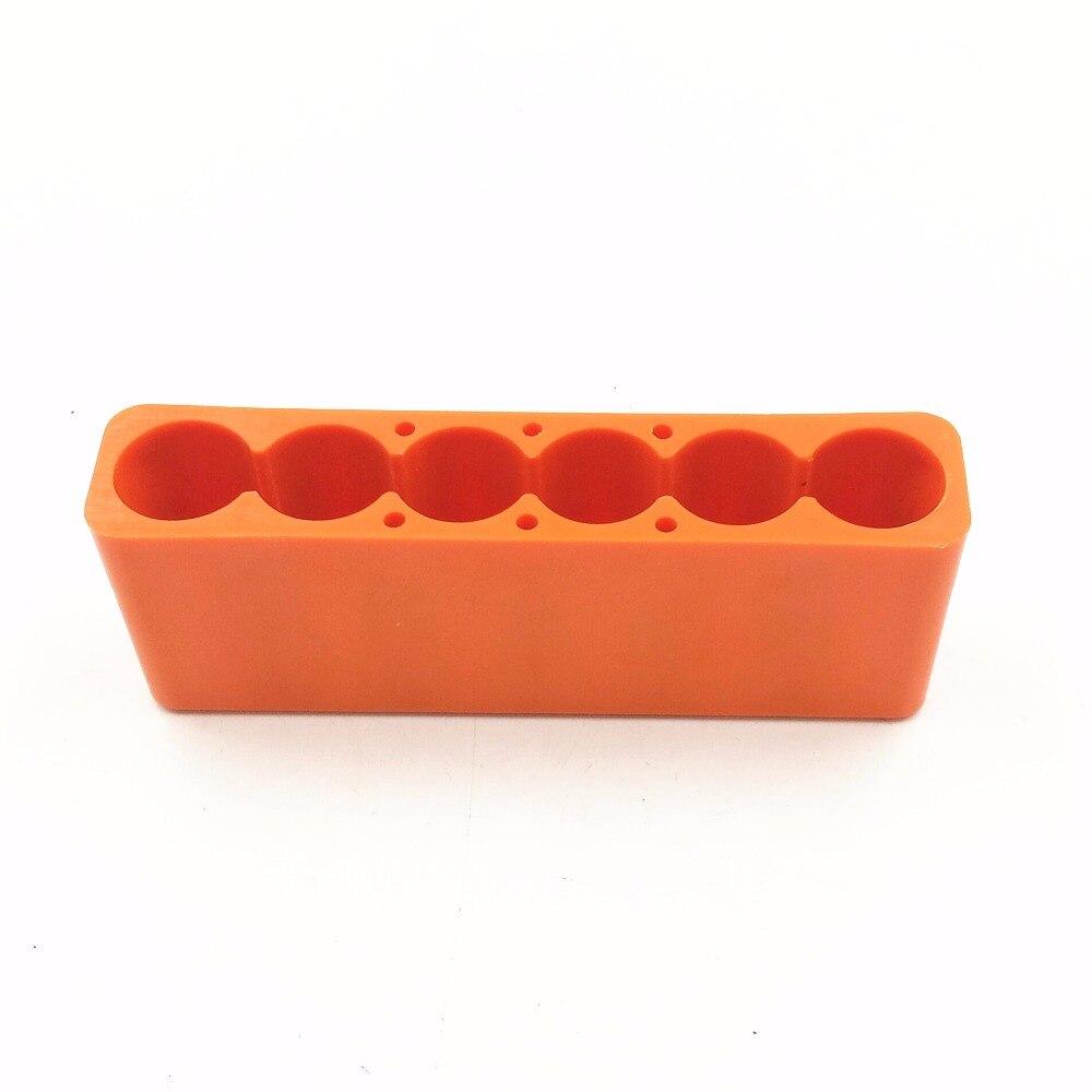 6 Section 18650 Battery Universal Spot Welding Fixture For Spot Welder Plastic Battery Spot Welding Fixture