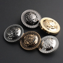 5 colors Retro Metal Button Antique Brass Copper Jeans Coat Jacket Clothes Decorative Buckle  Sewing 200 pcs/lot