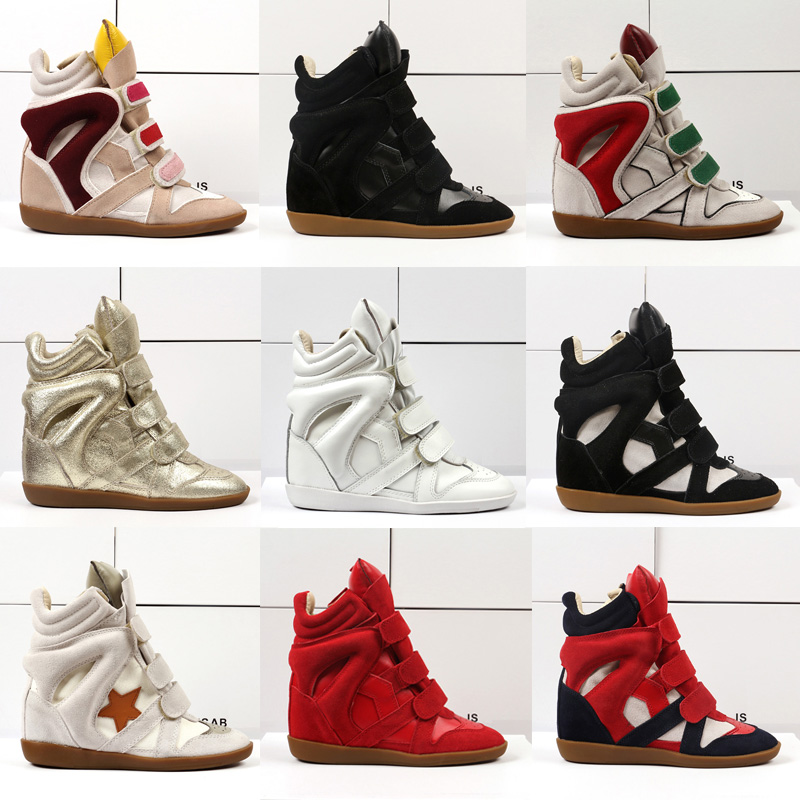 43f937f20e5a Detail Feedback Questions about Women s boots 2018 Classic Luxury heighten women  Wedges High To Help Leather Women s Shoes Casual Platform Women s Ankle ...