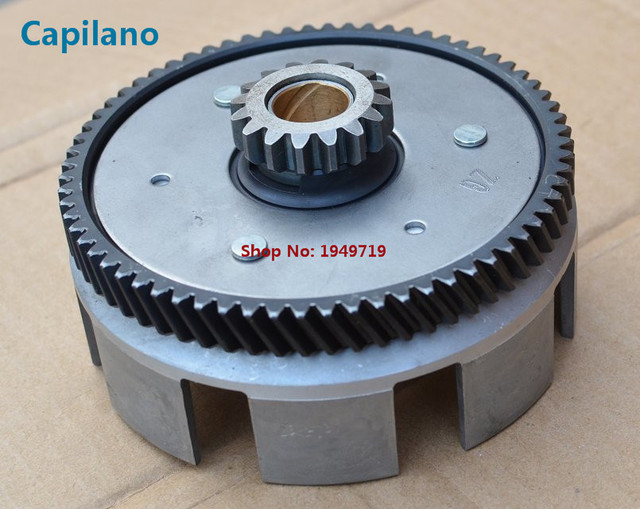US $72 0 |motorcycle/scooter /atv YBR125 clutch primary driven gear for  yamaha 125cc YBR 125 clutch spare parts on Aliexpress com | Alibaba Group