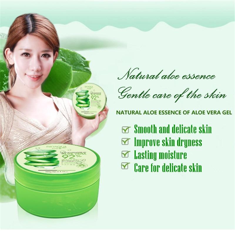 BIOAQUA természetes Aloe Vera sima gél akne kezelés arc krém - Bőrápolás