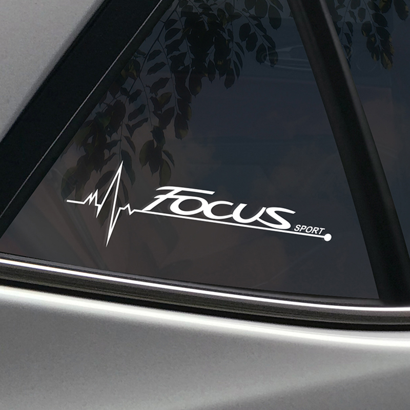 2PCS Car Stickers Side Window Decal For Ford Focus 2 3 1 MK2 MK3 MK1 Captivating Window Decoration Sport Decals Auto Accessories-in Car Stickers from Automobiles & Motorcycles