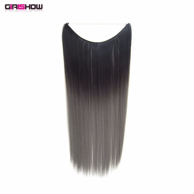 Girlshow Ombre Flip In Synthetic Heat Resistance Straigt Hair ...