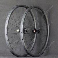 Скидка 2018 пользовательские колеса асимметрия MTB углерода XC 29er дюймовые колеса Горный велосипед довод бескамерные