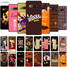 Lavaza Chocolates Pattern Soft Phone Cover for Samsung Galaxy S8 S9 S10 Plus A6 A8 A9 2018 A30 A50 TPU Case