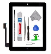 Mmobiel ассамблея digitizer домашняя кнопка стикер стекла ipad замена сенсорный клей