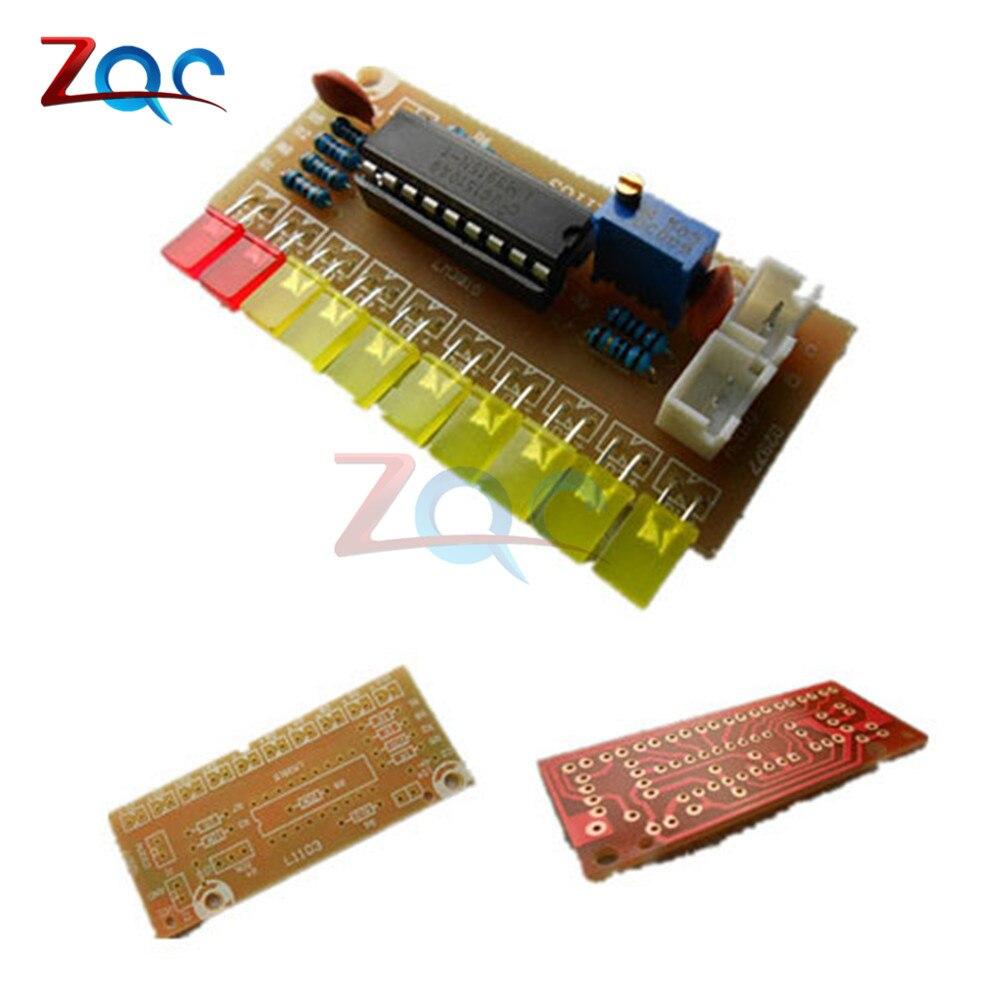 LM3915 Funny 10 Audio Level Indicator DIY Kit Electronic Audio Indicator Suite