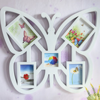 Hot Selling Newest Big Butterfly Creative Photo Frame Wall Hanging Body Combination Photo Frame, Personalized Art Photo Frame