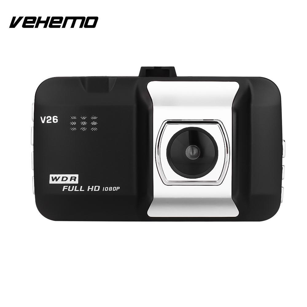 Vehemo 5MP Car Recorder Automobile Auto Camcorder CMOS Rearview Camera DVR Car Windshield Dvr Dash Cam