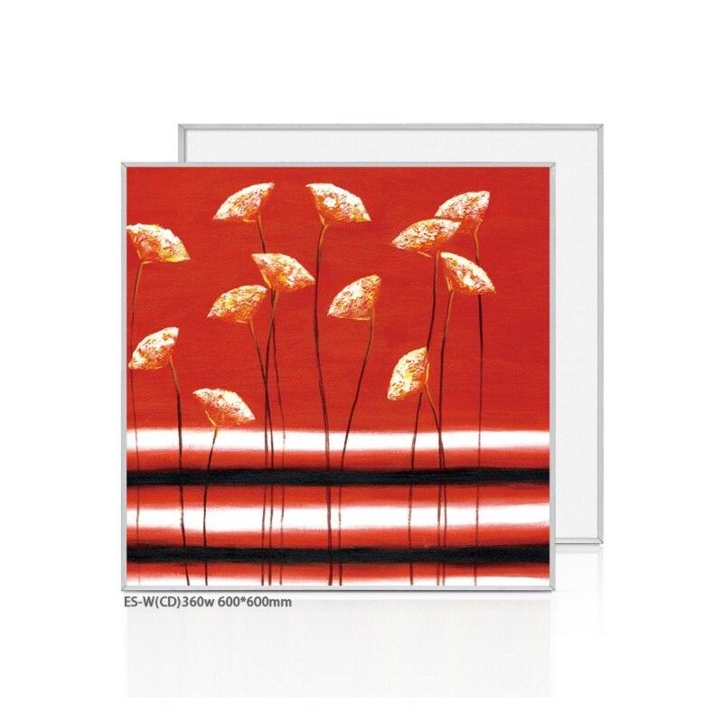 3pcs/ lot 360W customized painting Infrared heater panel wall heater горелка tbi sb 360 blackesg 3 м