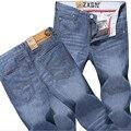 Nuevo 2016 Jeans de Moda hombres Jeans Caliente Para Jóvenes hombres de La Venta de Los Hombres Pantalones Casuales Delgado Pantalones Rectos El Envío Libre!