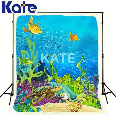 KATE Photo arrière-plan naturisme enfants Photos mer toile de fond fond Fondale Natale fond de conte de fées pour bébé Photoshoot