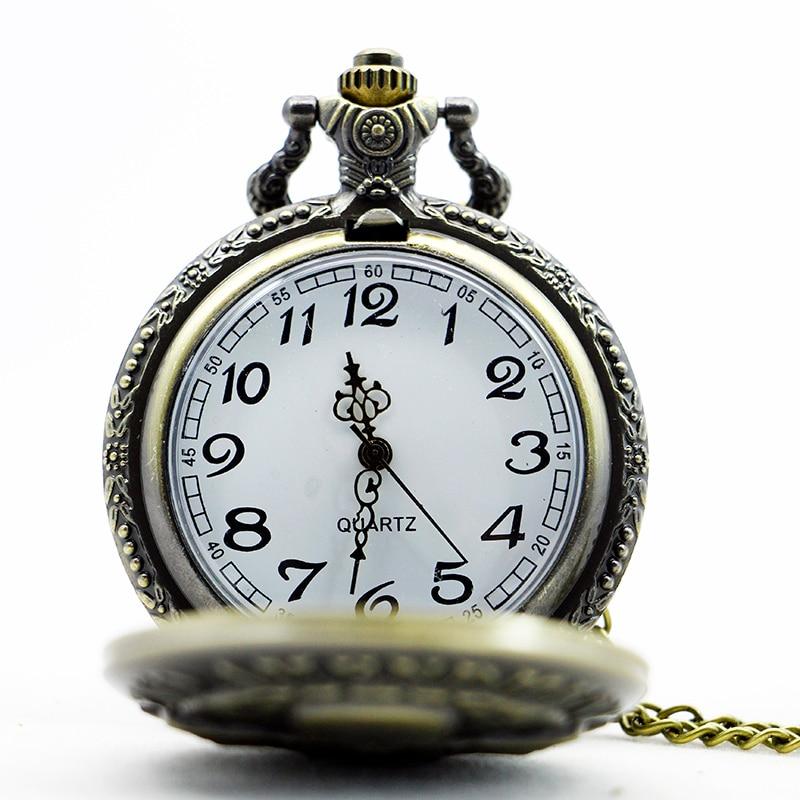 Antique-High-Quality-2nd-Amendment-USA-Theme-Bronze-Quartz-Pendant-Pocket-Watch-With-Necklace-Chain-Best (2)