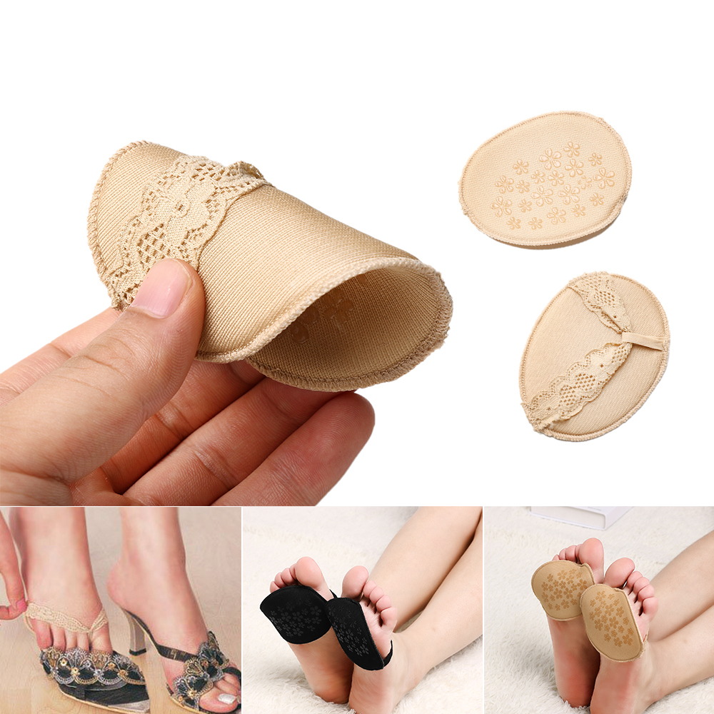 2Pcs Comfort Gel Silicone Hell Grip Back Liner Shoe Insoles Pad High Heels YZ