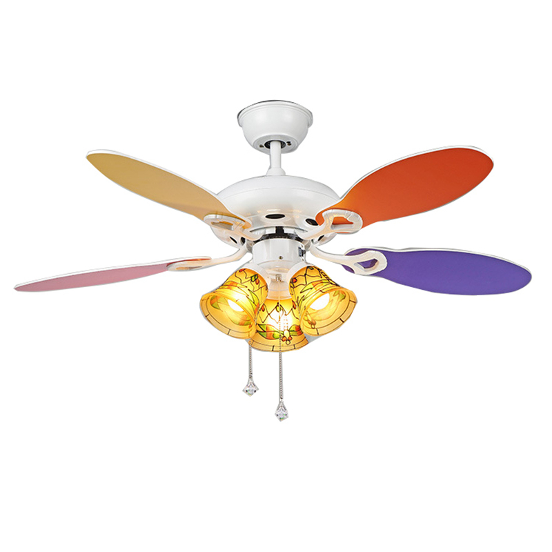 42 Inch Modern Quiet Ceiling Fan Kids Room Ceiling Fans With ...