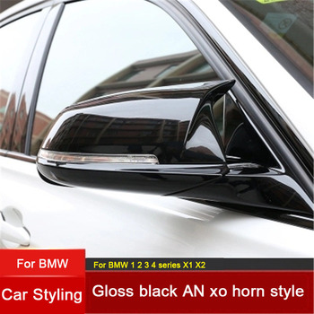 Car Accessories Replacement Carbon Fiber M Look Car Mirror Covers Caps Shell for BMW 1 2 3 series F20 F21 F22 F23 F30 F31 F34