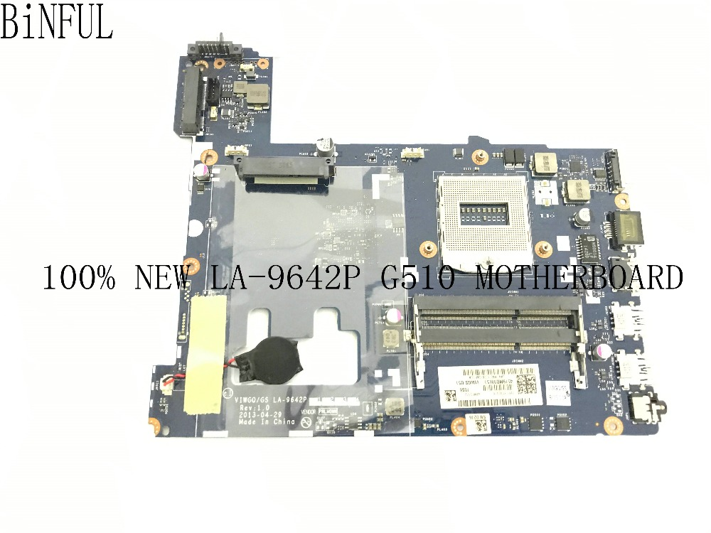 BiNFUL SUPER 100 NEW ITEM VIWGQ GS LA 9642P LAPTOP MOTHERBOARD FOR LENOVO G510 NOTEBOOK PC