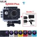 Original SJCAM SJ5000 Plus WiFi Waterproof Sports Action Camera Sj 5000 plus Cam DVR With Extra 2 Battery+Dual Wall+Car Charger