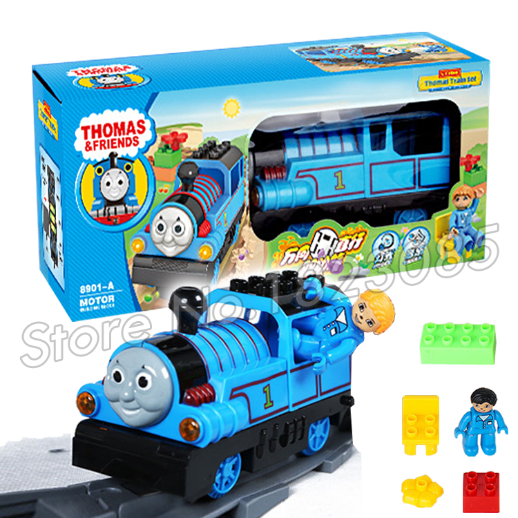 Electric Tank Engine Diecast Metal Thomas and Friends Trains trackmaster Model Building Blocks Bricks Railway Assembly Toys power trains набор с краном 48627